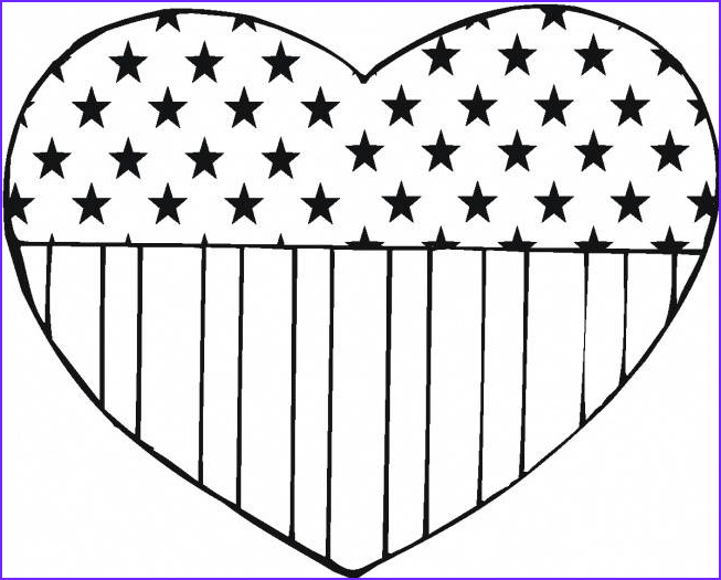 American Flag Coloring Page Beautiful Images American Flag Coloring Pages Best Coloring Pages for Kids