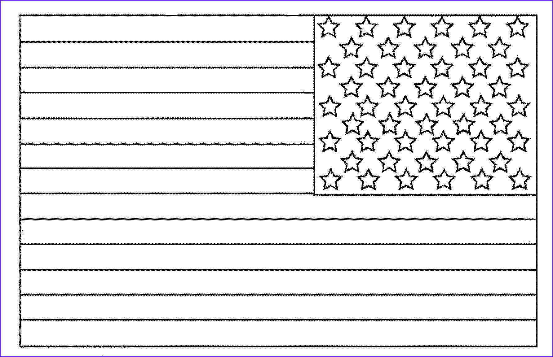 American Flag Coloring Page Best Of Collection American Flag Coloring Page for the Love Of the Country