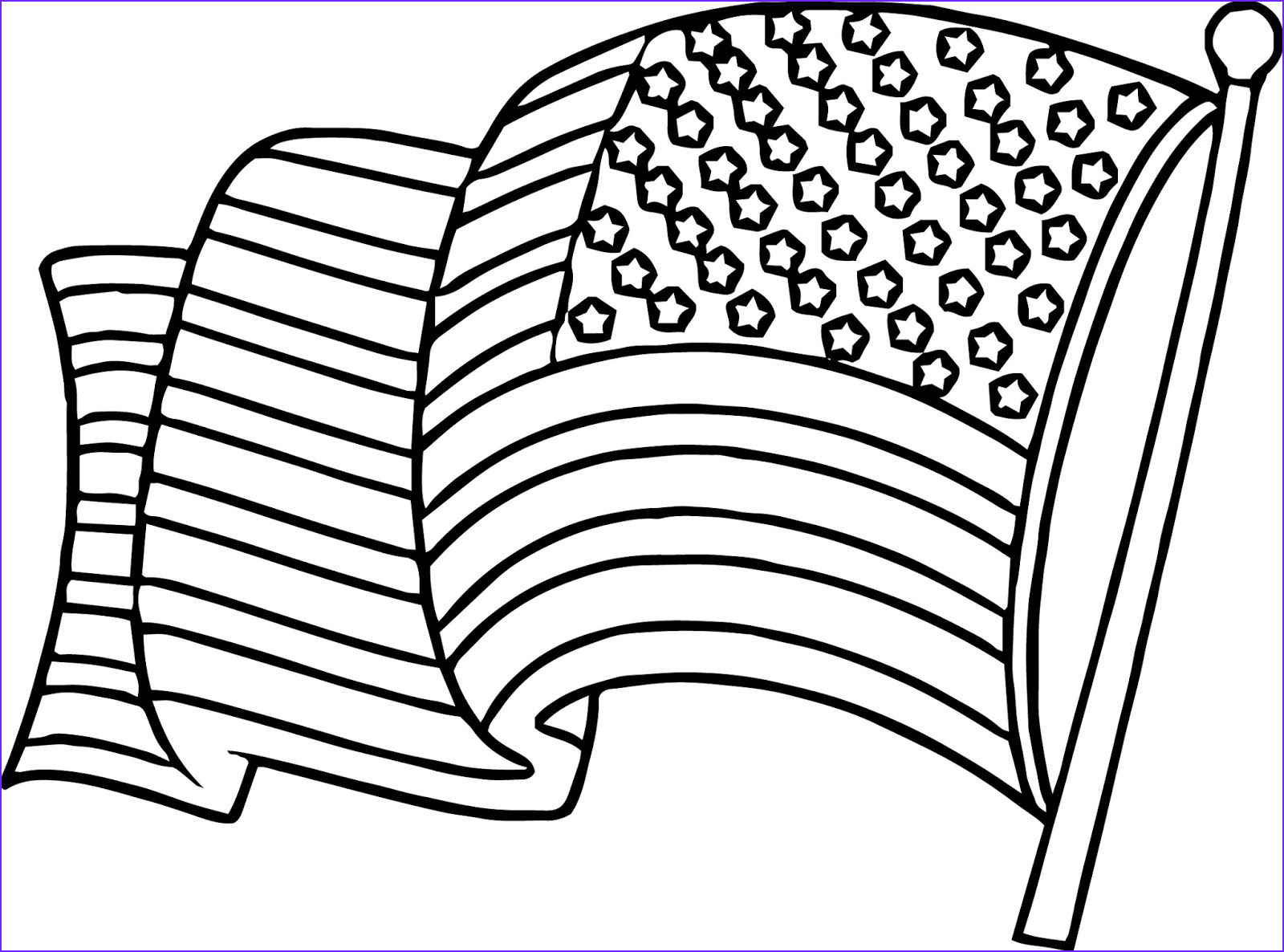 American Flag Coloring Page New Gallery American Flag Coloring Pages Best Coloring Pages for Kids