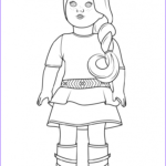 American Girl Coloring Page Beautiful Photos American Girl Coloring Pages Best Coloring Pages for Kids