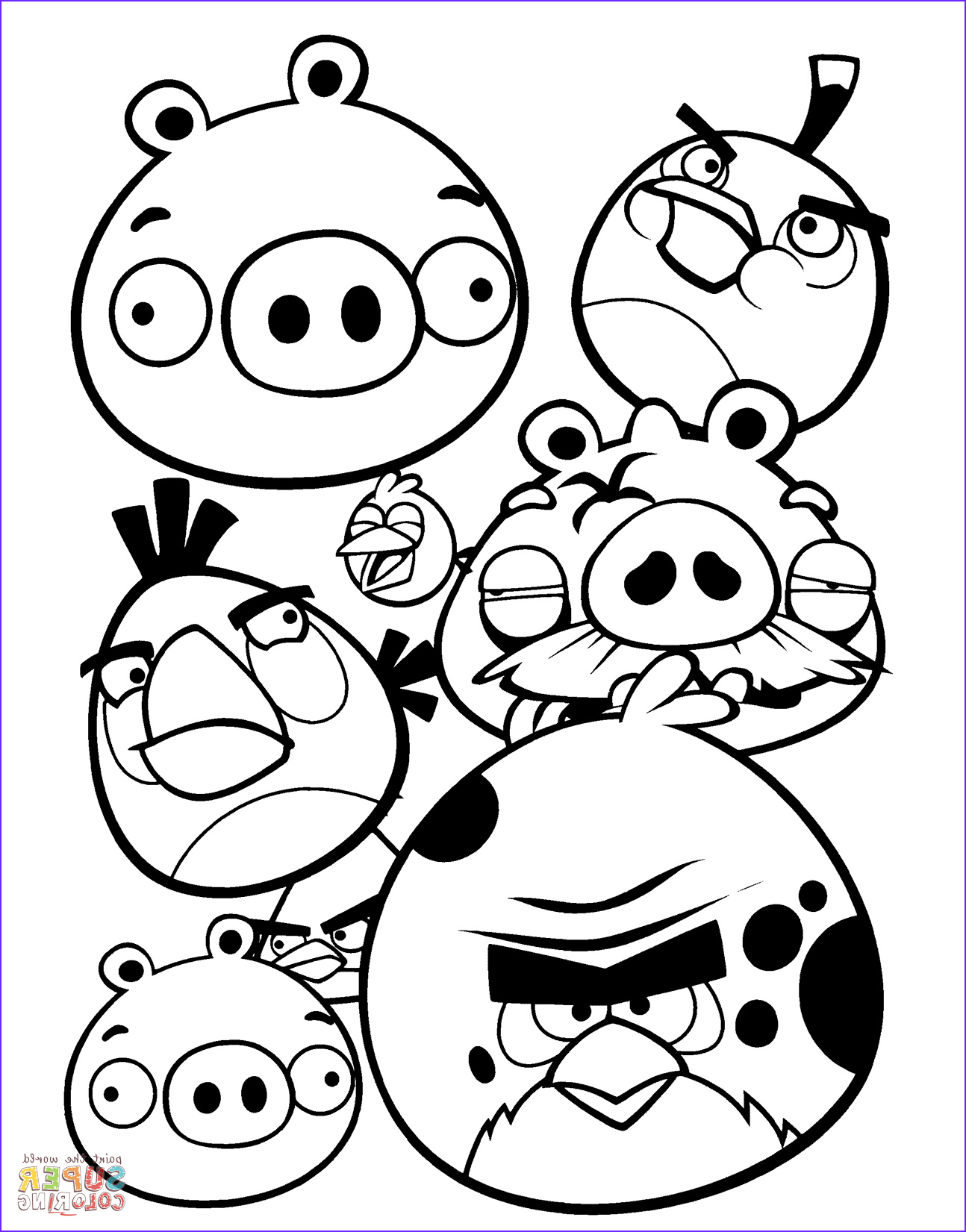Anger Coloring Pages Beautiful Stock 15 Best Printable Angry Birds Colouring Pages for Kids