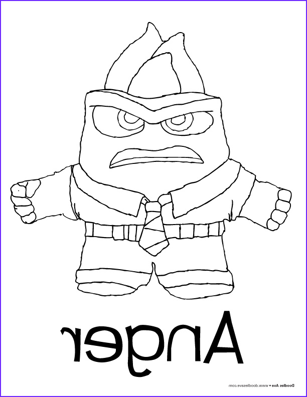 Anger Coloring Pages Best Of Photos Doodles Ave