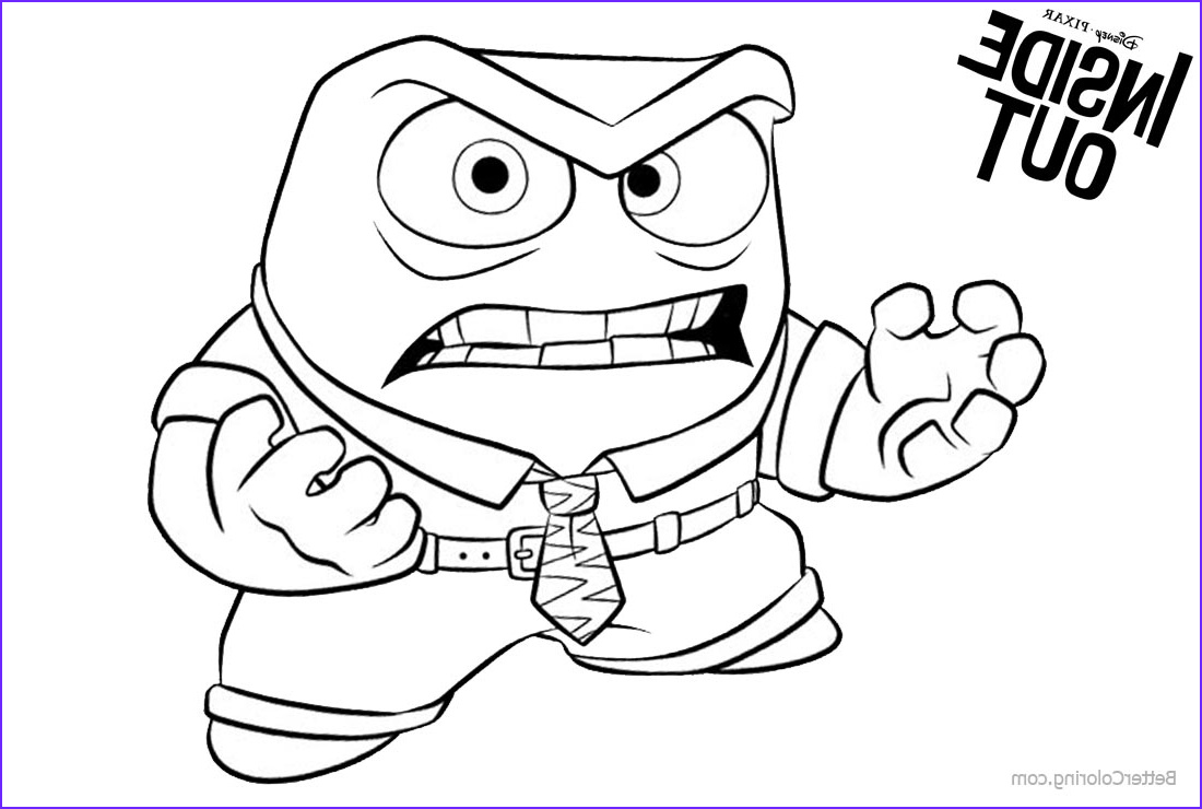 Anger Coloring Pages Inspirational Images Inside Out Anger Coloring Pages Free Printable Coloring