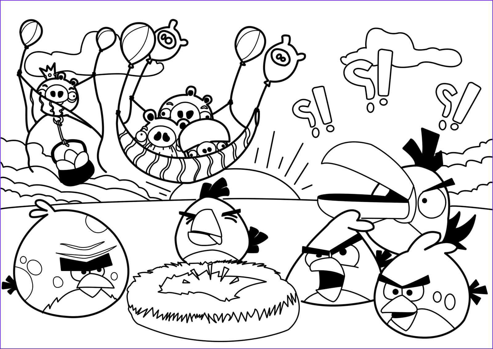 Angry Birds Coloring Book Best Of Photography New Angry Birds Coloring Pages
