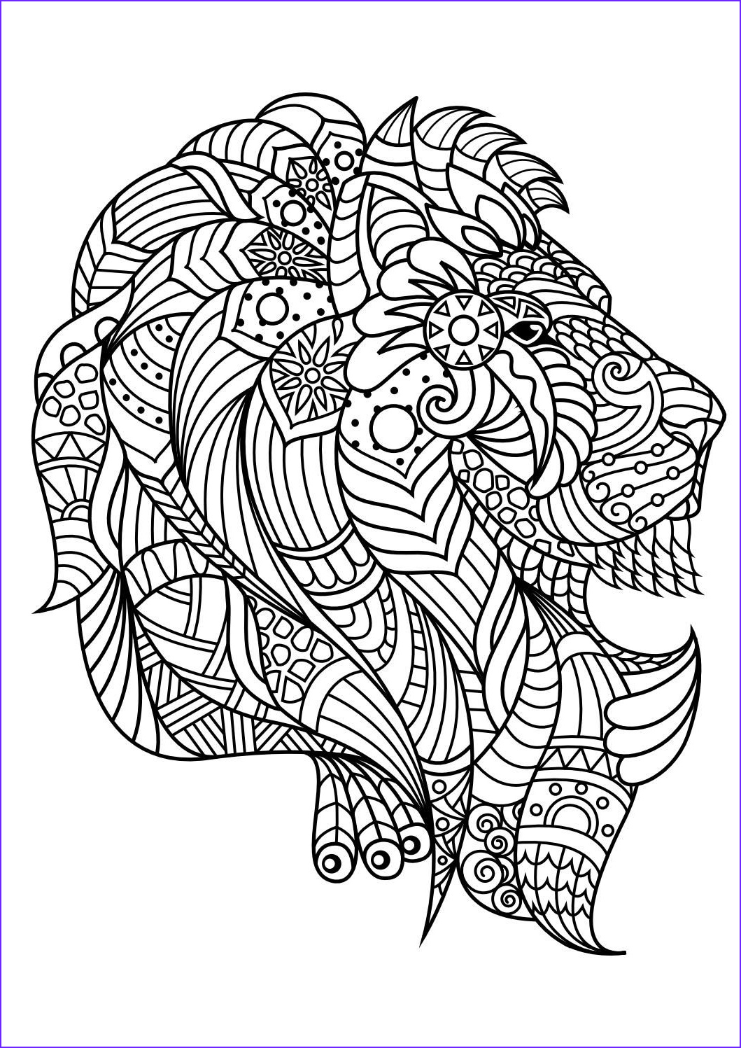 Animal Coloring Pages for Adults Luxury Photos Animal Coloring Pages Pdf Coloring Animals