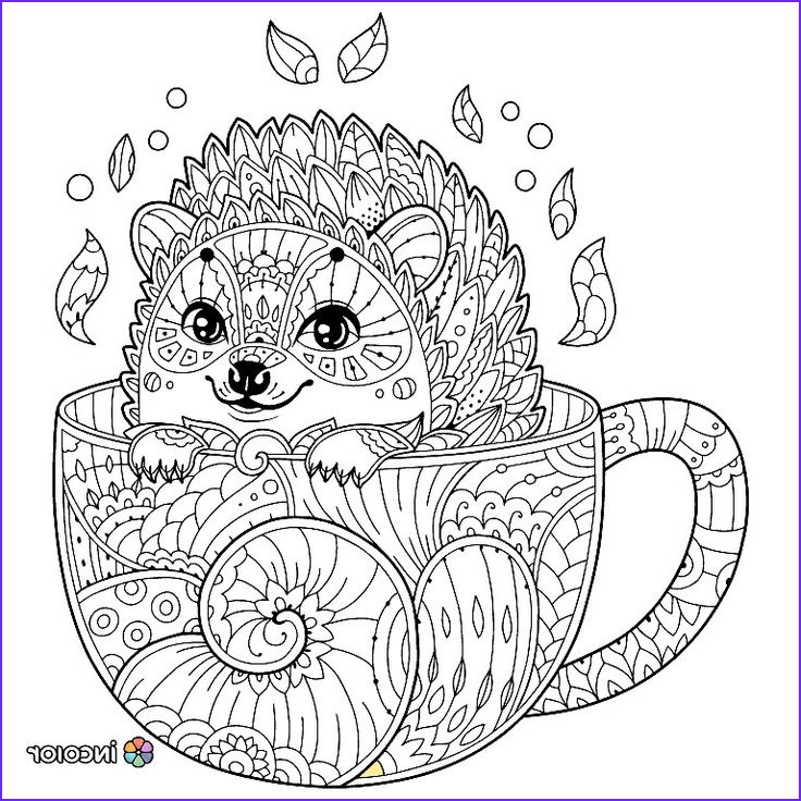 Animal Coloring Pages for Adults New Images Pin by Carole Wines On Coloring Pages