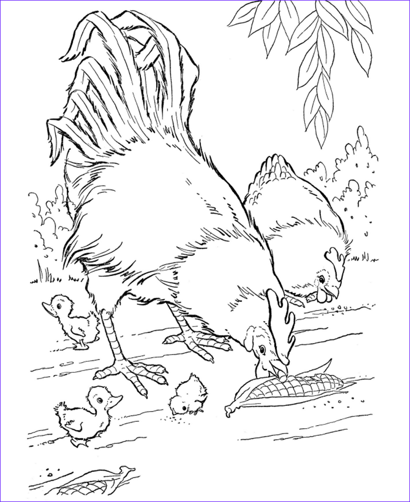 Animal Coloring Pages Printable Beautiful Collection Free Printable Farm Animal Coloring Pages for Kids