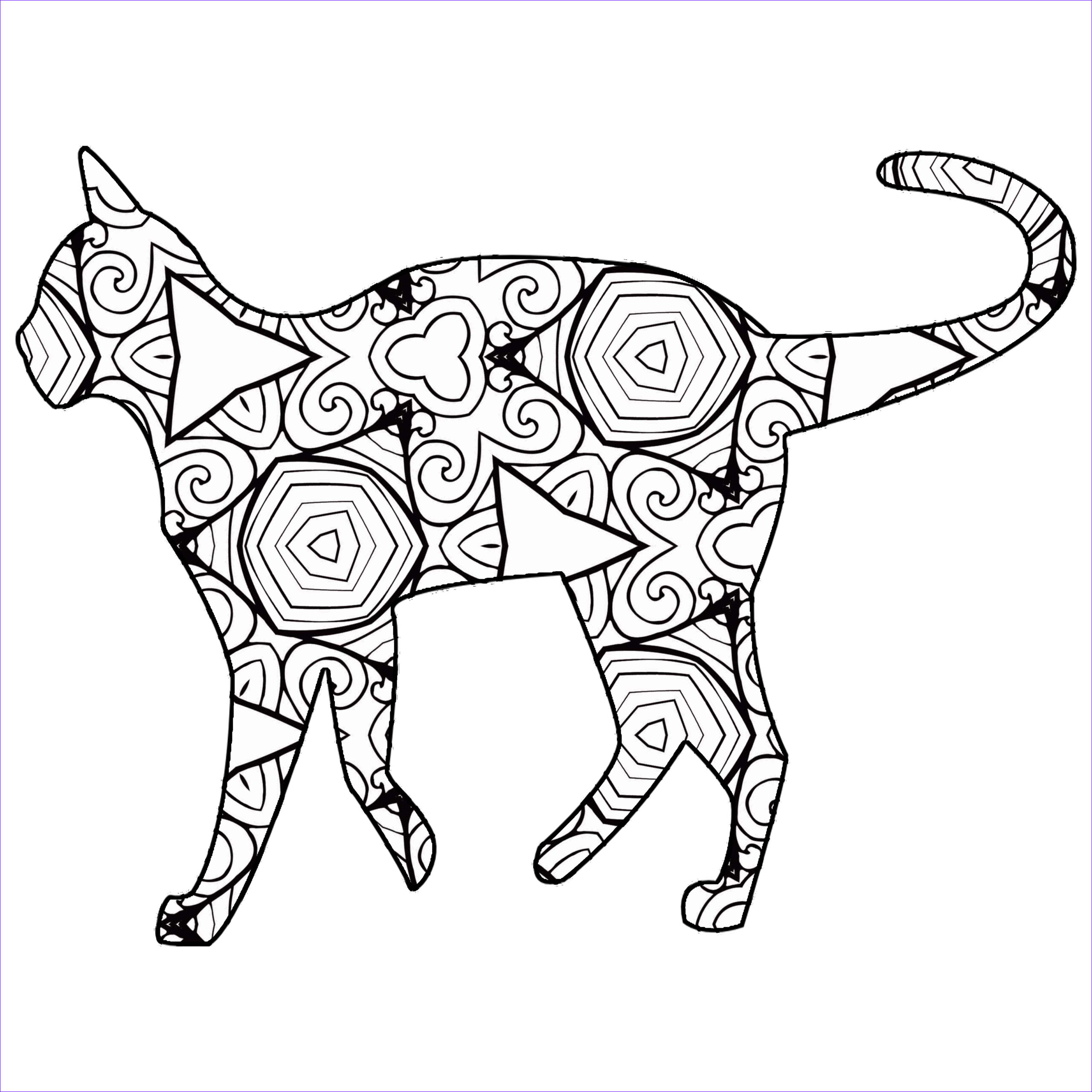 Animal Coloring Pages Printable Beautiful Photography 30 Free Coloring Pages A Geometric Animal Coloring