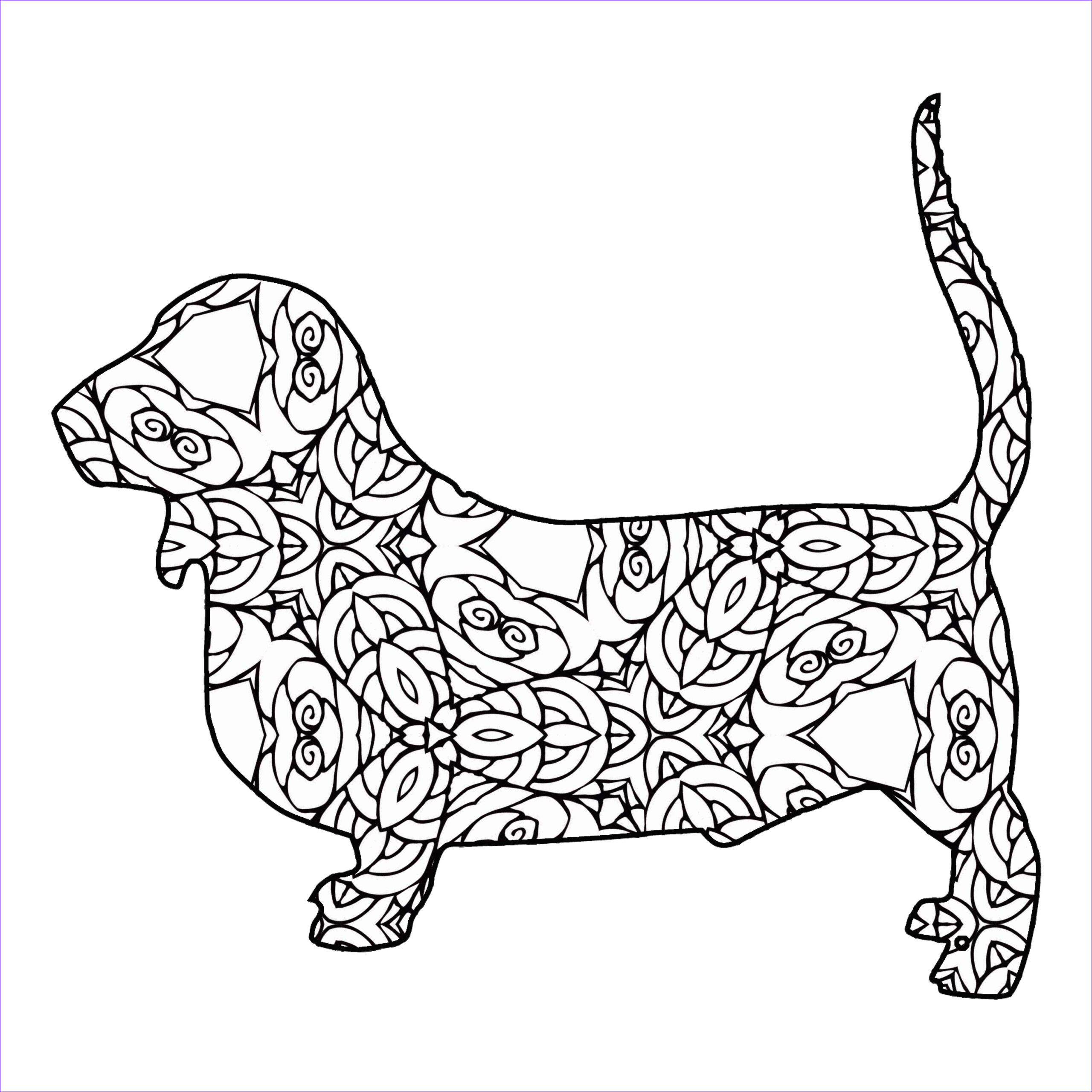 Animal Coloring Pages Printable Inspirational Images 30 Free Coloring Pages A Geometric Animal Coloring