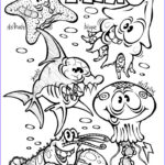 Animals Coloring Pages To Print Cool Gallery Free Printable Ocean Coloring Pages For Kids