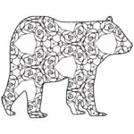 Animals Coloring Pages To Print Luxury Photos 30 Free Printable Geometric Animal Coloring Pages