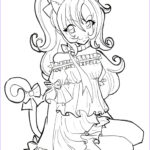 Animation Coloring Pages Elegant Photos Anime Fox Girl Cute Coloring Pages Coloring Home