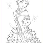Animation Coloring Pages Unique Collection Free Printables Anime Style Characters Coloring Pages