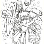 Anime Coloring Awesome Photos Anime Coloring Pages Best Coloring Pages For Kids