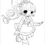 Anime Coloring Beautiful Images Free Printable Chibi Coloring Pages For Kids