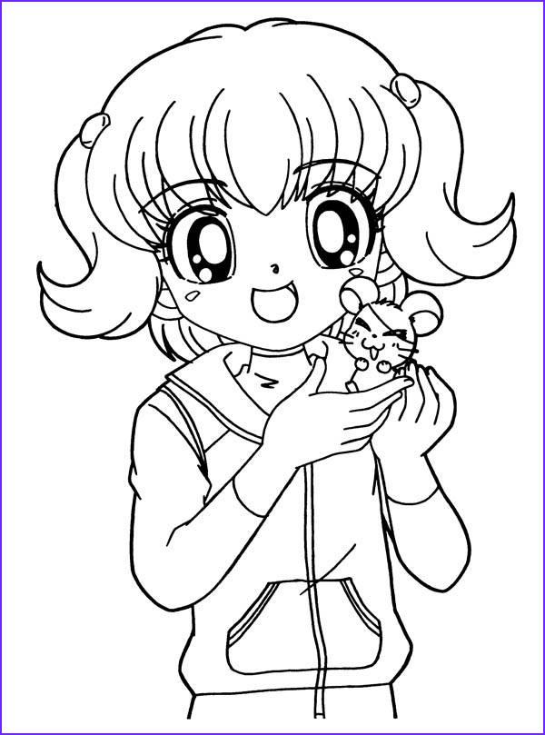 Anime Coloring Book Beautiful Photography 8 Anime Girl Coloring Pages Pdf Jpg Ai Illustrator