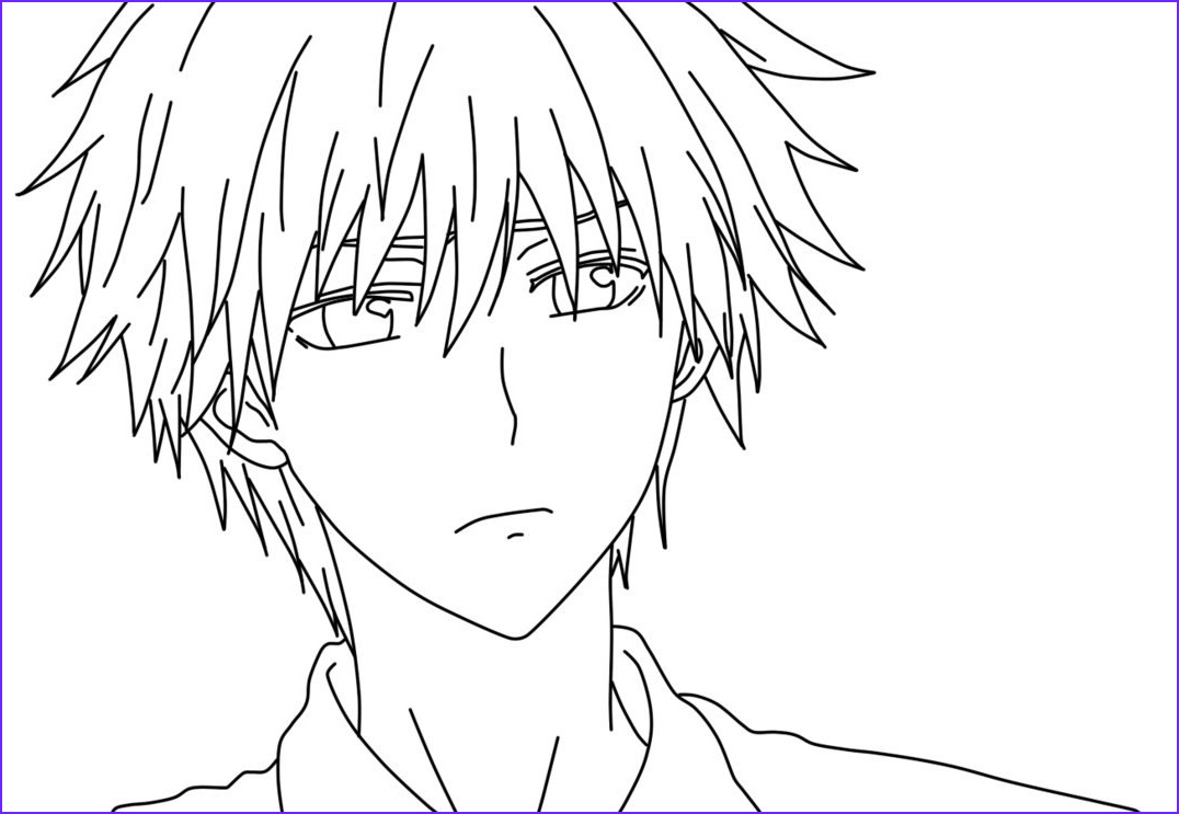 Anime Coloring Book Elegant Collection Anime Coloring Pages Best Coloring Pages for Kids