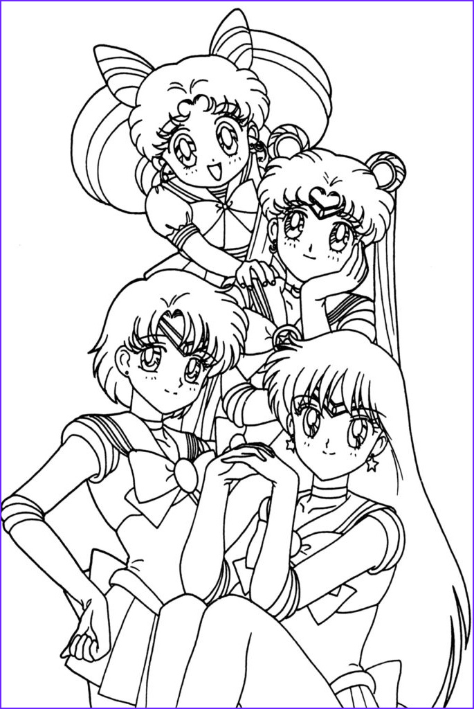 Anime Coloring Book New Image Anime Coloring Pages Best Coloring Pages for Kids