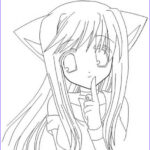 Anime Coloring New Photos 52 Anime Coloring Pages For Girls Cute Anime Girl