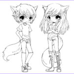 Anime Coloring Pages Printable Inspirational Gallery Chibi Coloring Pages To And Print For Free