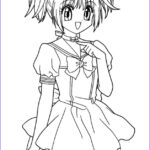 Anime Coloring Pages Printable Unique Gallery Anime Coloring Pages