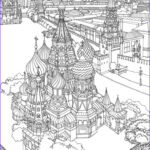 Architecture Coloring Book Awesome Collection 179 Best Images About Coloriages Architecture On Pinterest