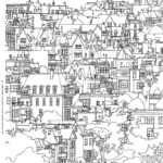 Architecture Coloring Book Awesome Gallery The Surprising Popularity Of An Urban Themed Coloring Book