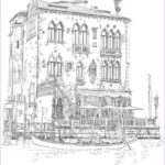 Architecture Coloring Book Awesome Photos Venice Coloring Book For Adults Architecture