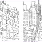 Architecture Coloring Book Beautiful Photography An Extremely Detailed Coloring Book For Architecture