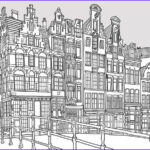 Architecture Coloring Book Beautiful Stock Fantastic Cities Is An Architecture Themed Coloring Book
