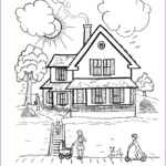 Architecture Coloring Book Best Of Collection House 8 Buildings And Architecture – Printable Coloring