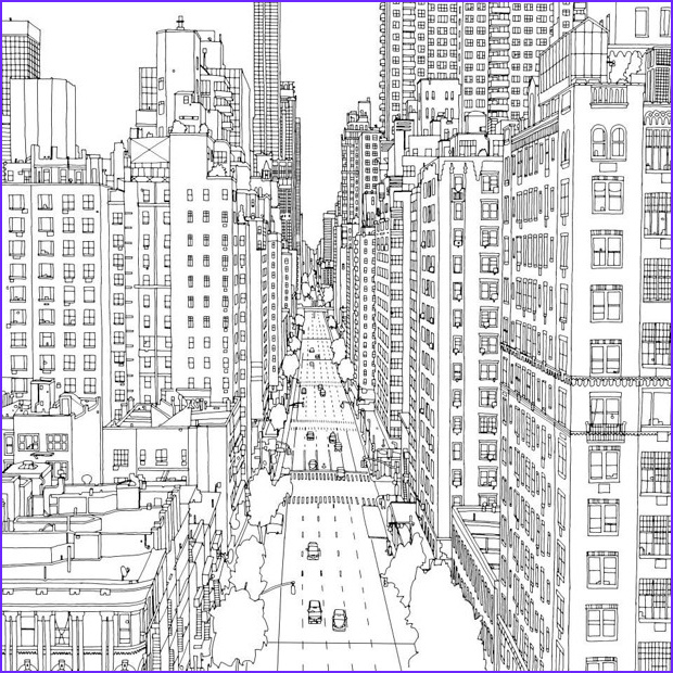 Architecture Coloring Book Best Of Photos City 8 Buildings and Architecture – Printable Coloring