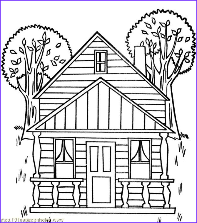 Architecture Coloring Book Elegant Collection Adult Houses Coloring Pages Printable