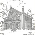 Architecture Coloring Book Inspirational Images A Page From…