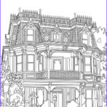 Architecture Coloring Book Inspirational Photos Authentic Architecture Gorgeous Manor Printable Adult