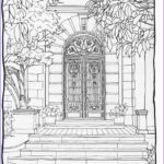 Architecture Coloring Book Luxury Gallery 369 Best Architecture Coloring Pages For Adults Images On