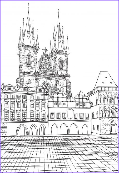Architecture Coloring Book Luxury Images Munich town Hall Coloring Page