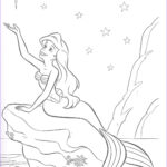 Ariel Coloring Beautiful Stock Ariel The Little Mermaid Coloring Pages