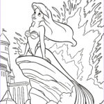 Ariel Coloring Book Awesome Photos A Is For Ariel Color Page Ariel Coloring Page
