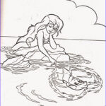 Ariel Coloring Sheets New Images Coloring Pages Ariel The Little Mermaid Free Printable