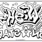 Art Coloring Pages Beautiful Collection Omg Another Graffiti Coloring Book Of Room Signs Learn