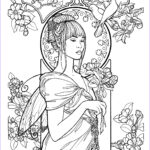 Art Coloring Pages Beautiful Image Pin By Brenda Mendenhall On Art I Like