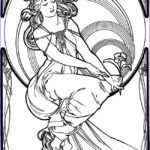 Art Coloring Pages Beautiful Stock Creative Haven Art Nouveau Designs Coloring Book By