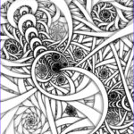 Art Coloring Pages Inspirational Gallery Fractal Coloring Pages Bestofcoloring