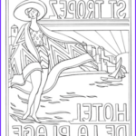 Art Deco Coloring Books Luxury Image Art Deco Coloring Book Pages Adult