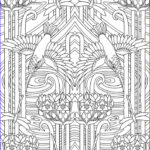 Art Deco Coloring Books Unique Photography Get This Free Art Deco Patterns Coloring Pages For Adults