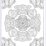 Art Therapy Coloring Book Beautiful Photos Art Therapy Celtic 100 Designs Colouring In And