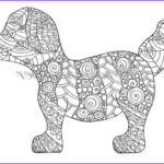 Art Therapy Coloring Book Elegant Stock Adult Coloring Page Puppy Coloring Page Colouring Page