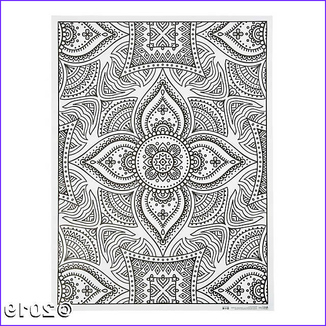 Artzone Coloring Poster Beautiful Photos Artzone™ Adult Coloring Poster Henna Discontinued