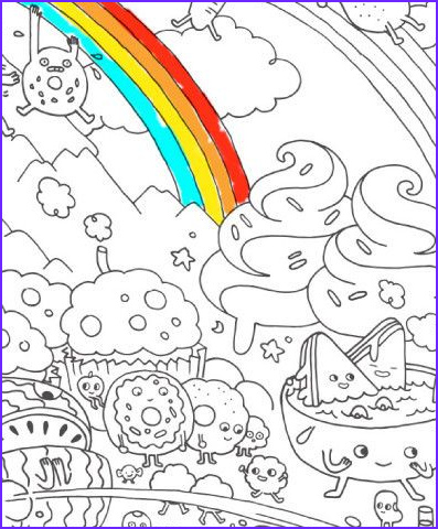 Artzone Coloring Poster Best Of Collection Food Fight Really Big Coloring Poster